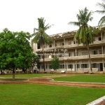 Das Toul Sleng Genocide Museum (S-21) in Phnom Penh im ehemaligen Schulgebäude