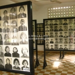 Bilderausstellung der 17.000 Opfer des Toul Sleng Genocide Museums (S-21) in Phnom Penh