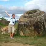 Plain of Jars bei Phonsavan / Laos