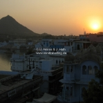Sonnenuntergang in Pushkar