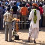 Chai Verkäufer auf der Camel Fair in Pushkar
