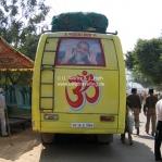 Bus auf der Camel Fair in Pushkar