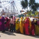 Das Treiben auf der Camel Fair in Pushkr
