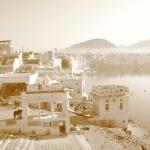 Sonnenaufgang am Pushkar See