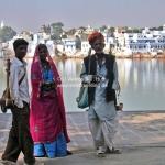 """Die """"Band"""" von der Camel Fair in Pushkar"""