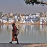 Sadhu am Pushkar See