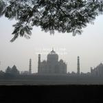 Das Taj Mahal in Agra