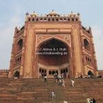 Moschee in Fatehpur Sikri / Rajasthan / Indien