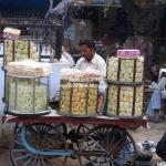 Indischer Straßenverkäufer