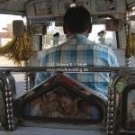 """Indische Rikshawfahrer in der """"Bollywood Rikshaw"""""""