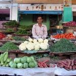 Gemüseverkäufer in Jodhpur / Indien
