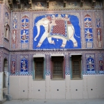 Haveli in der Shekawati Region / Rajasthan / Indien