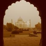 Das Taj Mahal in Agra / Indien