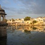 Der See in Udaipur / Rajasthan / Indien