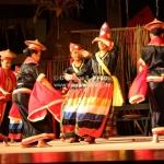 Traditionelle Tanzveranstaltung im Cultural Village bei Kuching / Sarawak / Borneo
