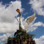 Sibu - Stadt der Schwäne / Sarawak