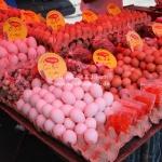 Auf dem Markt in Kuching / Sarawak / Borneo