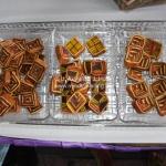Traditioneller Schichtkuchen in Sarawak (=Keks - haha!)