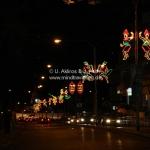 Straßenbeleuchtung in Kuching / Sarawak / Borneo