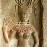 Relief in Angkor Wat - coole Friese!