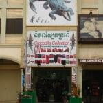 Der Handel von Krokodilleder ist hier in Cambodia tatsächlich noch erlaubt!!!