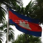 Flagge von Cambodia
