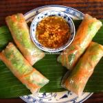 Fresh Springrolls / Vietnamesische Nems