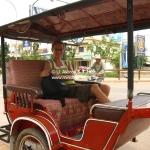 Bequeme Tuk Tuk Variante in Siem Reap