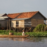 Watervillage am Tonle Sap Lake