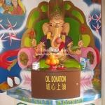 Ganesha Figur in Singapur