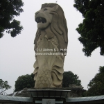 Merlion auf Sentosa Island / singapur