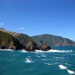 Der Malborough Sound von der Fähre aus...