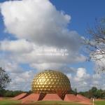Matrimandir in Auroville / Tamil Nadu