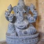 Ganesha Figur in Mammalapuram
