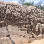 Felsenrelief in Mammalapuram