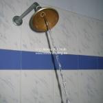 24 Stunden fließend warmes Wasser in der Dusche! Haha!!