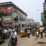 Straßenszene in Chennai / Madras