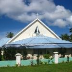 Eine von 500 Kirchen auf der Hauptinsel Tongatapu