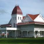 Der Königspalast in dem die Queen Mum wohnt