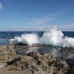 Die Blowholes von Tonga sind der Hammer!!! Da kann man ewig zu schauen!