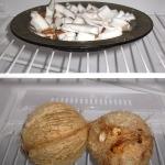 Wir horten sogar Kokosnüsse im Kühlschrank