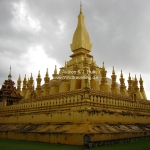 That Luang Stupa in Vientiane / Laos