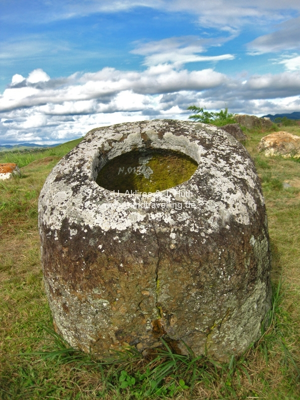 Plain of Jars bei Phonsavan / Laos